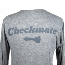 Load image into Gallery viewer, Check Yo Self 2.0 Long Sleeve Tee - Grey Triblend