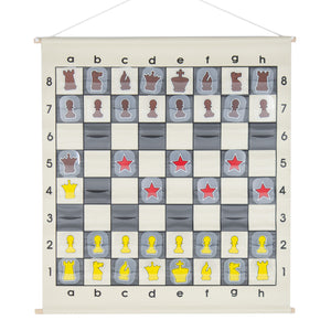 "27"" Quality Chess Demo Board"