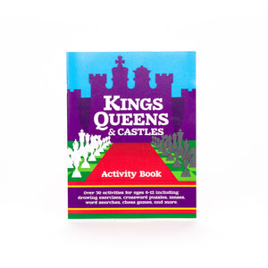 Kings, Queens & Castles Activity Book
