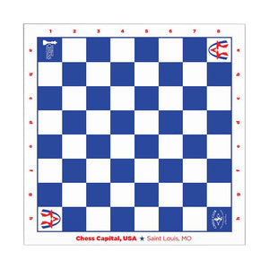 Chess Capital USA Premium Roll Up Board