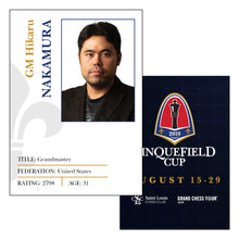 Load image into Gallery viewer, 2019 Sinquefield Cup Trading Cards