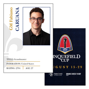 #2019 Sinquefield Cup Trading Cards