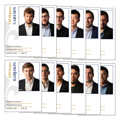 2019 Sinquefield Cup Trading Cards