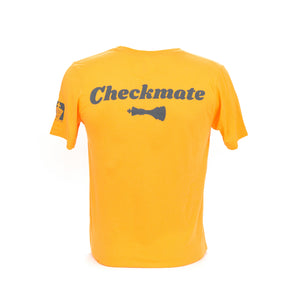Check Yo Self 2.0 Tee - Neon Orange