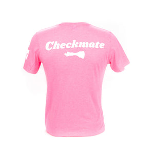 Check Yo Self 2.0 Tee - Neon Pink