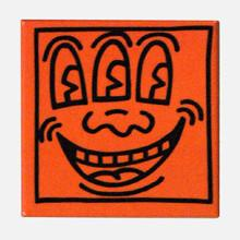 Load image into Gallery viewer, Keith Haring Square Magnet