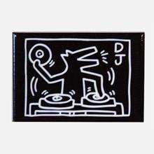 Keith Haring Rectangle Magnet