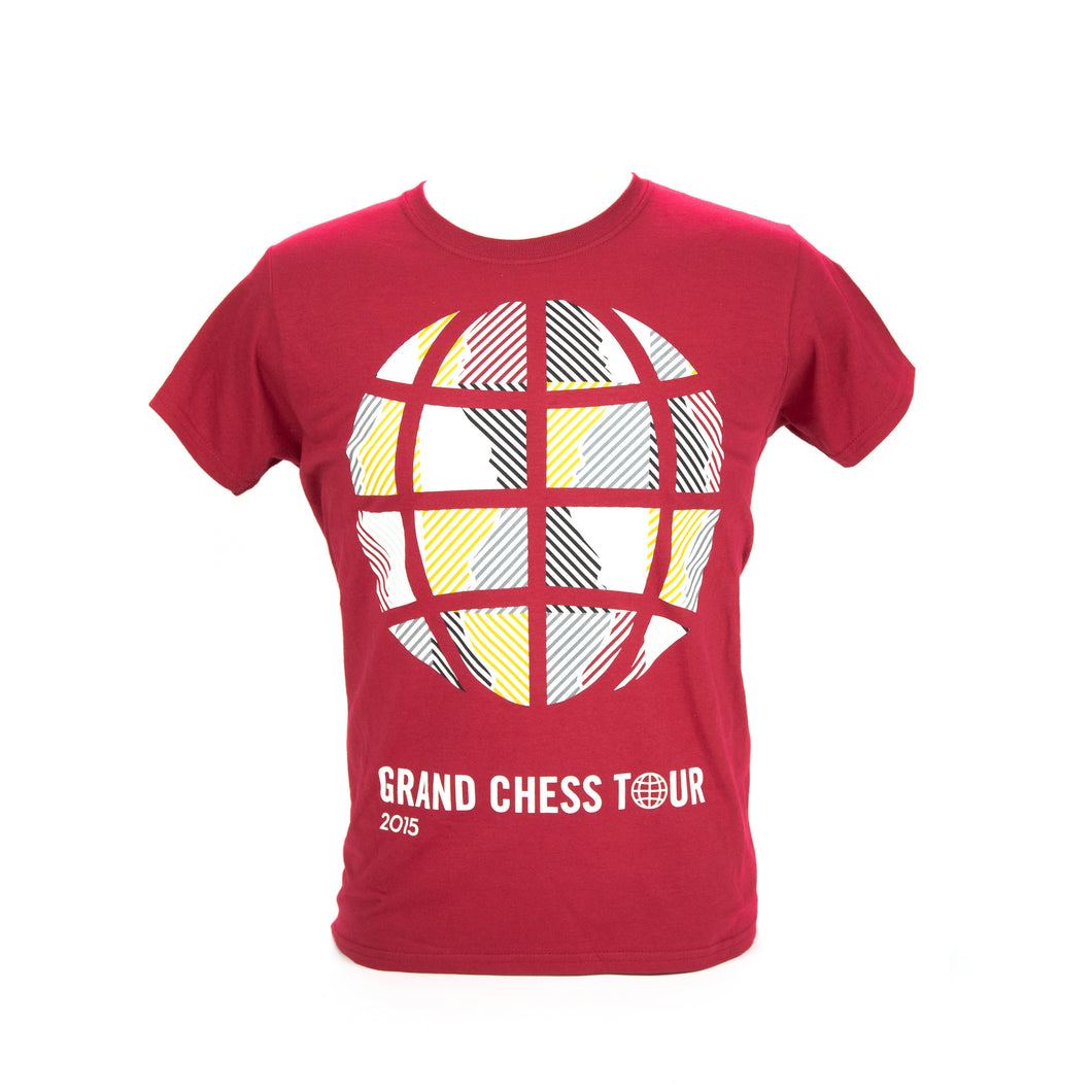 2015 Grand Chess Tour Women's T-Shirt