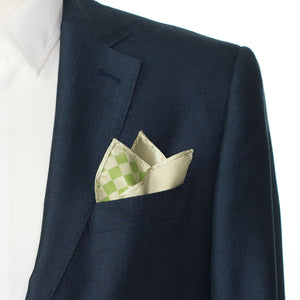 Falling Chessboard Pocket Squares
