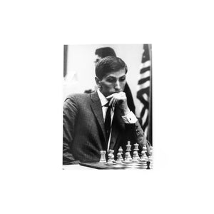 Ground Control Postcards - Bobby Fischer