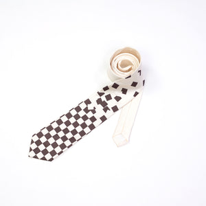 Falling Chessboard Neckties