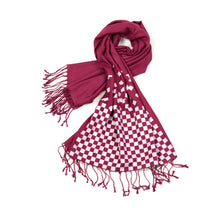 Load image into Gallery viewer, Falling Chessboard Scarves