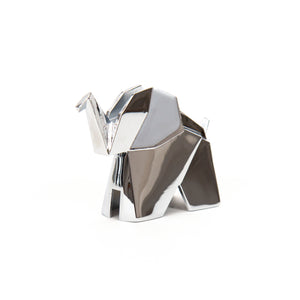 Origami Elephant Chrome