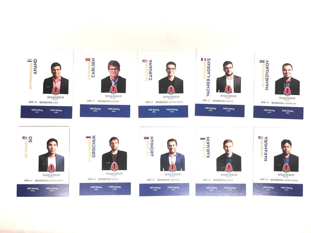 2018 Sinquefield Cup Trading Cards