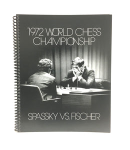 Harry Benson: Fischer Vs Spassky Notebook
