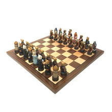 Load image into Gallery viewer, Cats & Dogs Chess Set