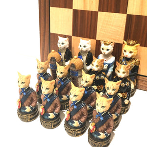 Cats & Dogs Chess Set