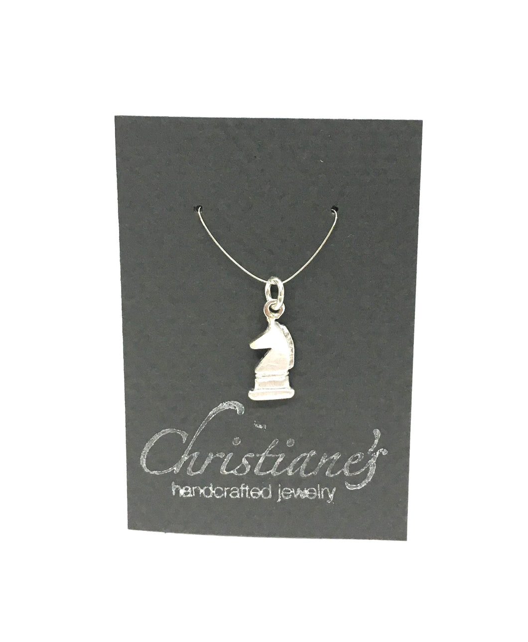 Silver Chess Charms