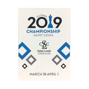 2019 US Chess Championship Trading Cards