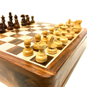 "10"" Magnetic Folding Chess Set"