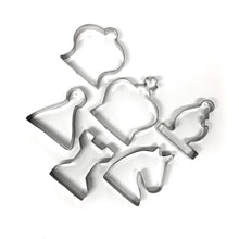 Load image into Gallery viewer, Chess Cookie Cutters Set of 6