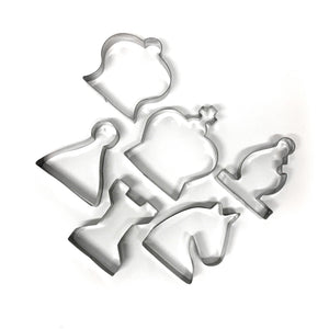 Chess Cookie Cutters Set of 6
