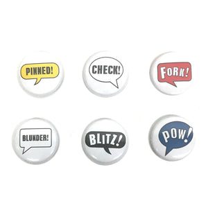 Pow! Button Pins
