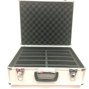 Aluminum Carry Case for 10 Chess Clocks