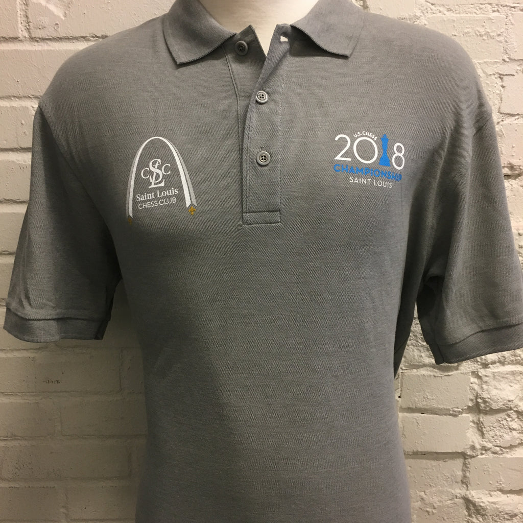 2018 US Chess Championship Polo Shirt