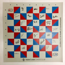 Load image into Gallery viewer, 2018 US Chess Championship Roll Up Boards [Autographed]