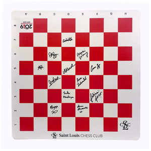2019 US Women's Chess Championship Autographed Vinyl Boards