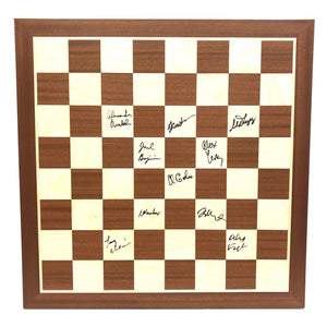 2019 U.S. Senior Championship Wooden Board [Autographed]