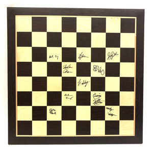 2019 US Junior Championship Wooden Board [Autographed]