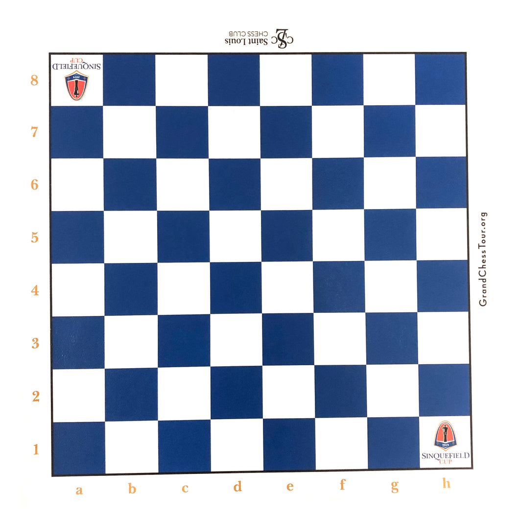 2019 Sinquefield Cup Roll-up Board