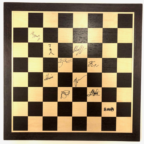 2019 Saint Louis Rapid & Blitz Wooden Board [Autographed]