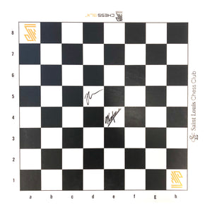2019 Chess 9LX Vinyl Roll-up Board (Autographed)