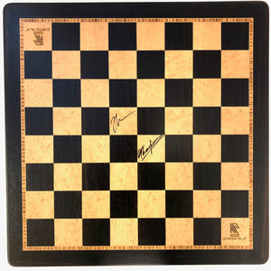 2019 Chess 9LX Wooden Board (Autographed)