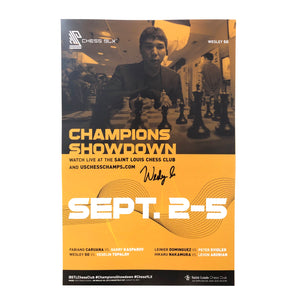 2019 Chess 9LX Poster [Autographed]