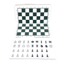 Load image into Gallery viewer, WCHOF Checkbook Magnetic Chess Set