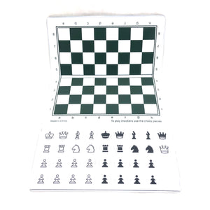 WCHOF Checkbook Magnetic Chess Set