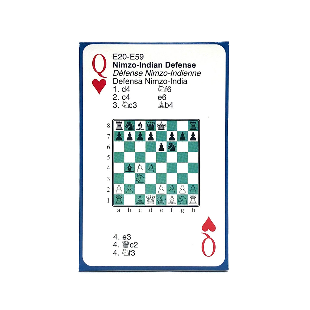Chess Openings Playing Cards