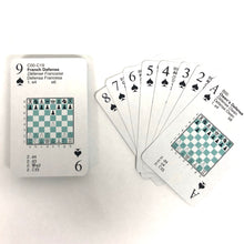 Load image into Gallery viewer, Chess Openings Playing Cards