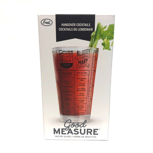 Good Measure Recipe Glass