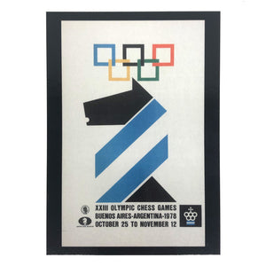 Drawn Games Postcards - 23rd Chess Olympiad