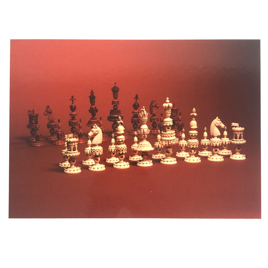 Dare to Know Postcards - Elberfeld Chess Set