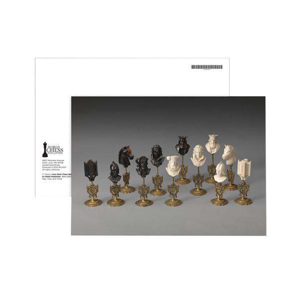 Encore Exhibition Postcards - Ivory Bust Set