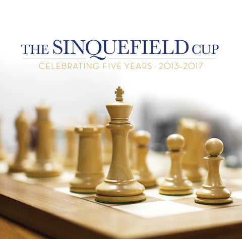 The Sinquefield Cup: Celebrating Five Years 2013-2017 [Autographed by GM's and Authors]