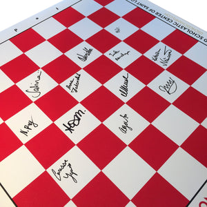 2016 US Championship Roll Up Boards [Autographed]