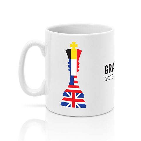 2018 Grand Chess Tour Mug