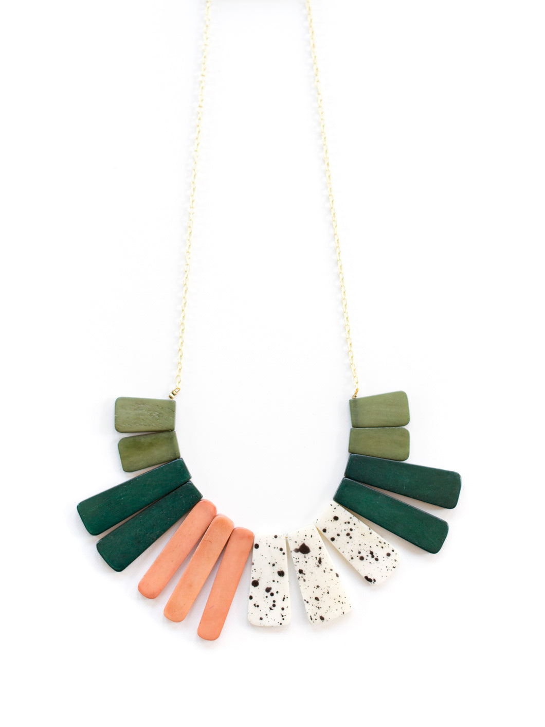 Color Study Necklace Blue